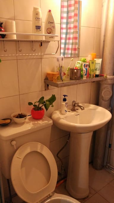 温馨实用的卫生间
