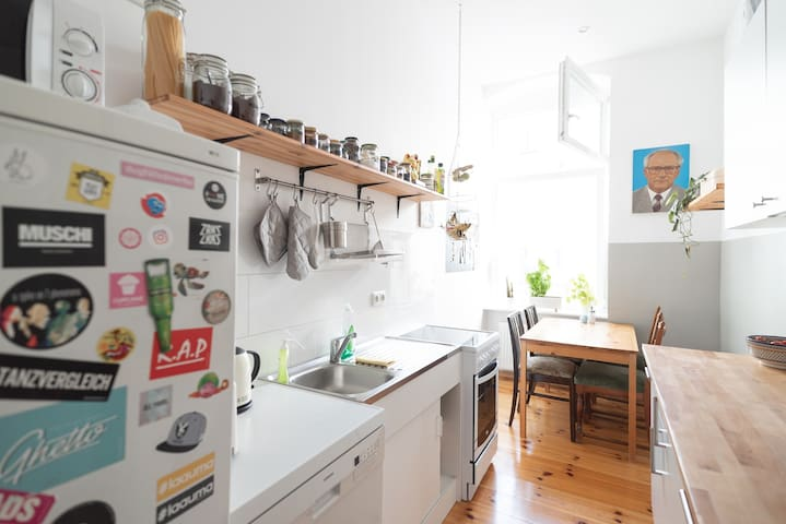 Kitchen - shared with 3 flatmates
