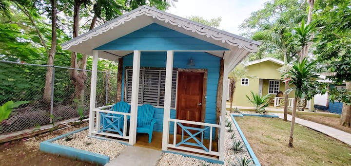 Bak A Yaad Caribbean Blue Cottage