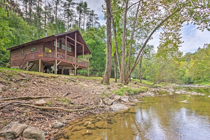Creekside Weaverville Home-16 Mi to Asheville