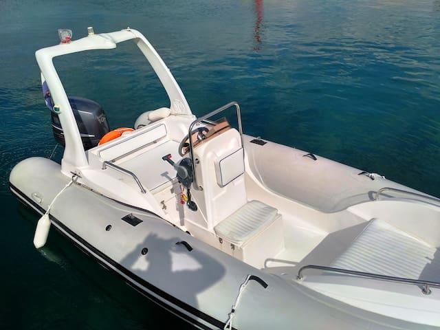Rib 580 - Slatine - Boat