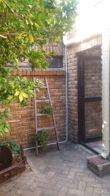 Separate entrance
