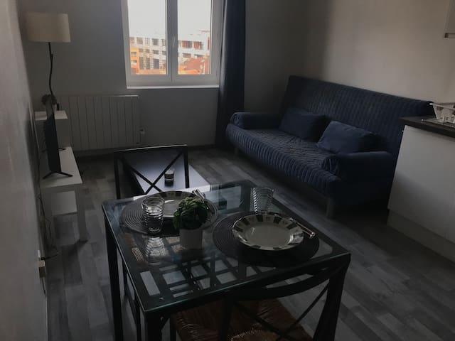 Bel appartement face gare de Roubaix 1