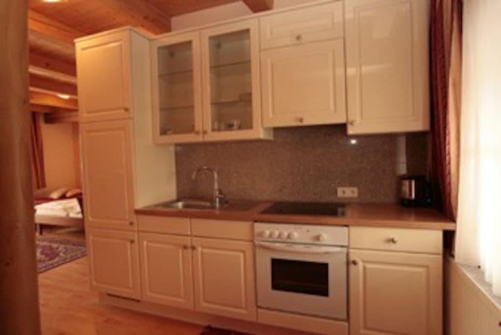 Appartements mit modernsten Küchen