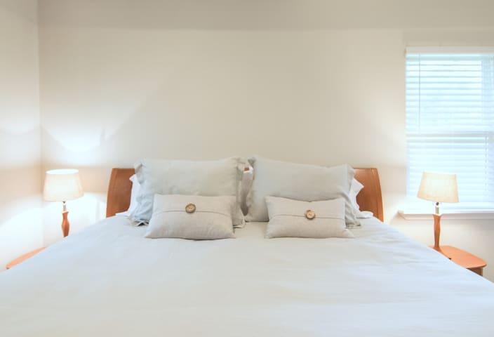 Master Bedroom/ King size bed