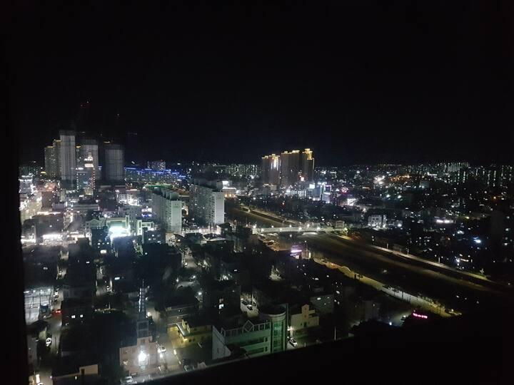 춘천시내전체뷰, 옥상정원, 복층, 신축
