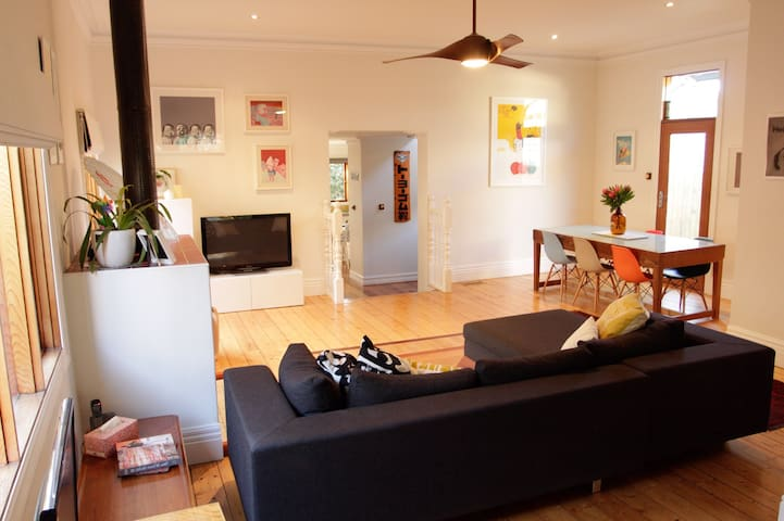 Family home in trendy Brunswick - Brunswick - Ev