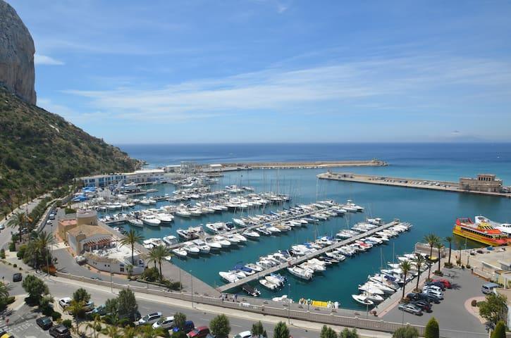Edificio Ancora Calpe Port Amazing sea views.