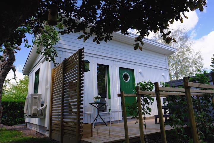 Vita gästhuset i Sya