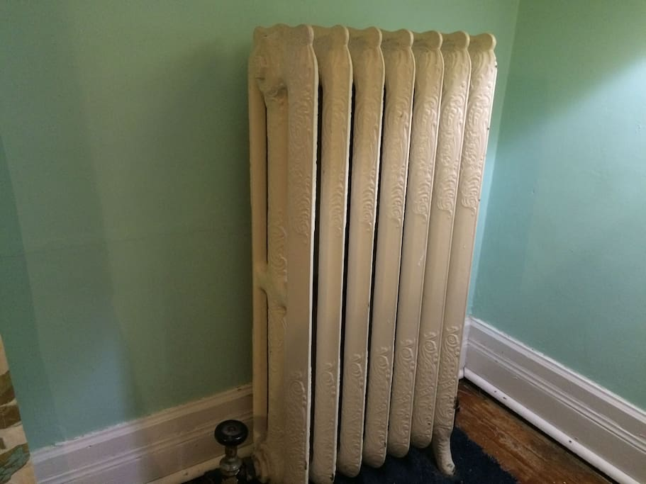 old radiator heat space heater available