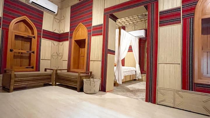 Stunning Omani House Near Souq Mutrah, Mazon Suite