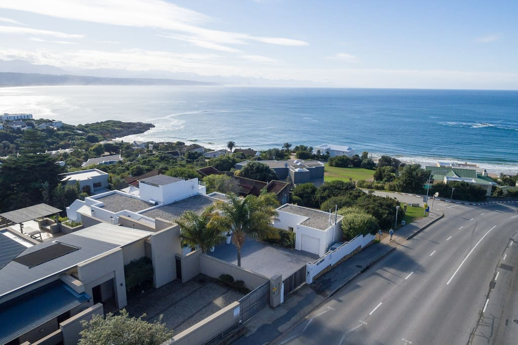 View of Villa Formosa and Plettenberg Bay