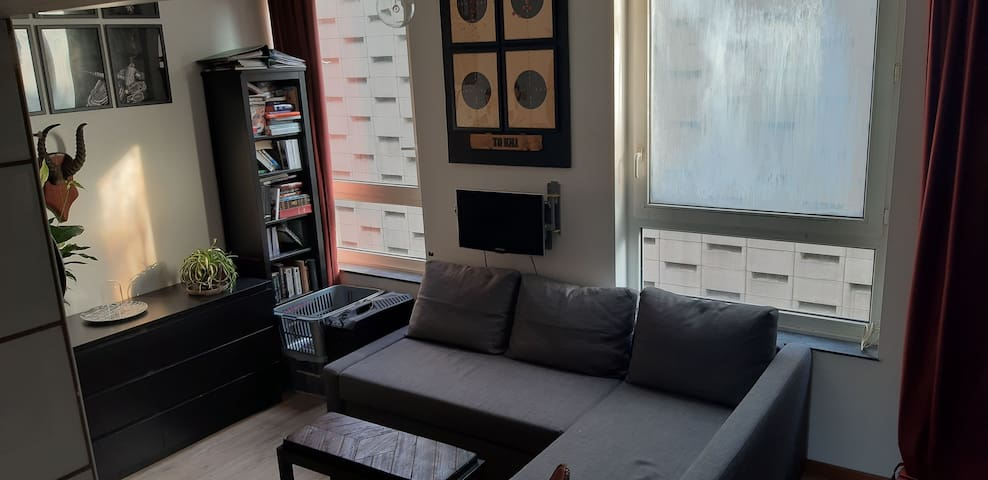 Studio appartment located in the city center