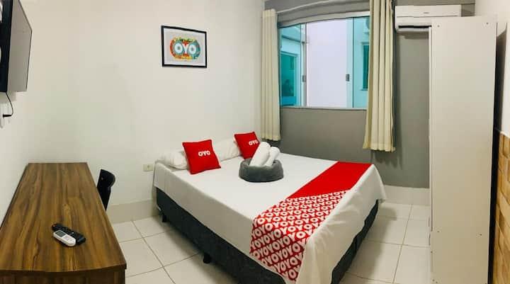 Hotel! Suite espetacular 204 COM CAFÉ DA MANHÃ