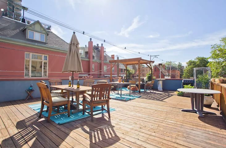 Condo with Great Rooftop Deck