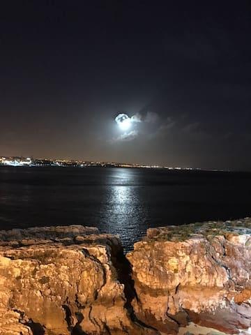 Cascais moon