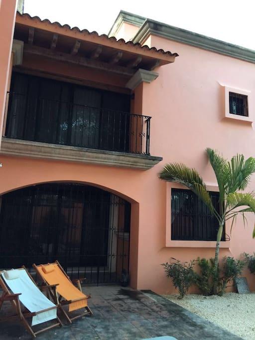 Balcones de habitaciones