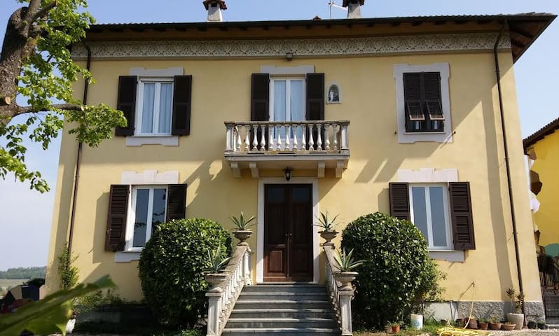 Beautiful House with view, green and peace - Castelletto d'Orba - House