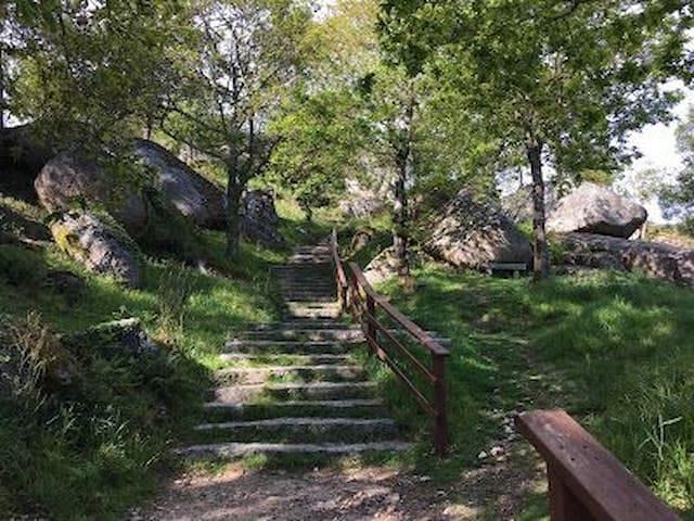 Casa de Piedra en Ría de Arosa