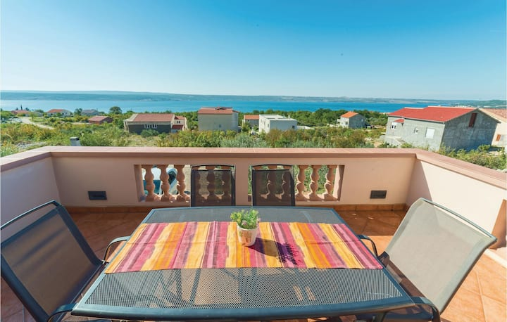 Awesome home in Maslenica with WiFi and 3 Bedrooms