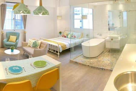 MiaHA  Design Studio BathTube/Washer/Dryer/TV