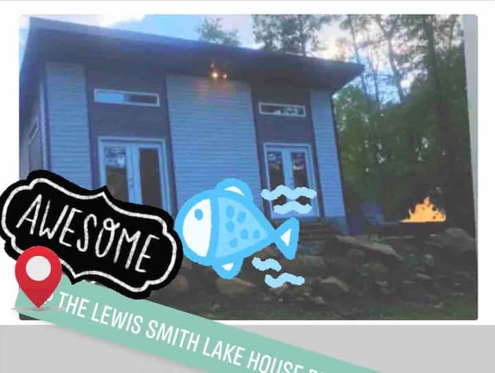 LewisSmithLakeAL Convenient+pedalboat+dock+firepit