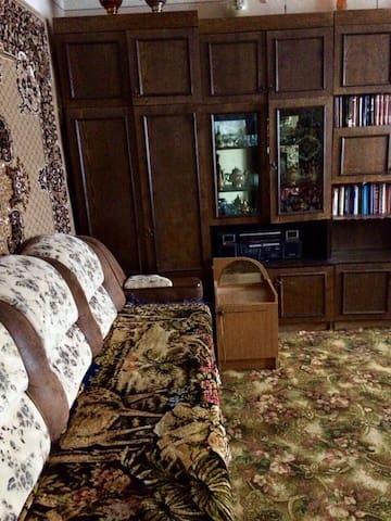 Квартира с лоджией от 800 руб с чел./сутки.