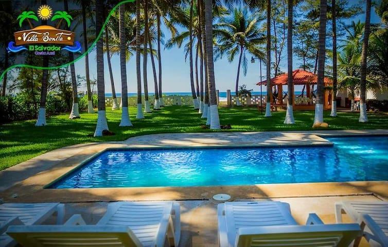 Beatiful Beachfront House at Costa Azul - Sonsonate - Rumah