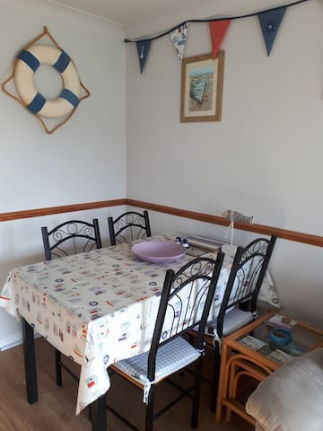 Chalet close to beach and family entertainment.