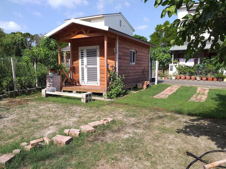小木屋放鬆心情 歡迎固定來渡假,適合全家大小露營