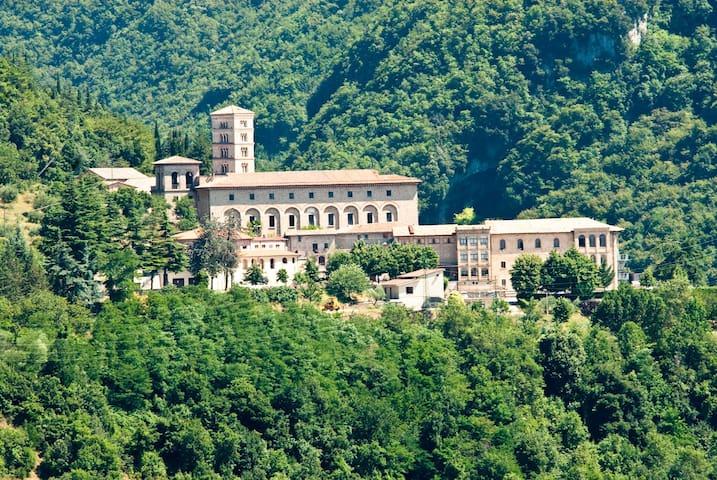 Monastero santa Scolastica Subiaco