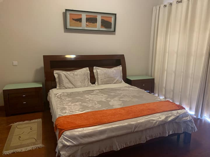 The orange Room with private bathroom