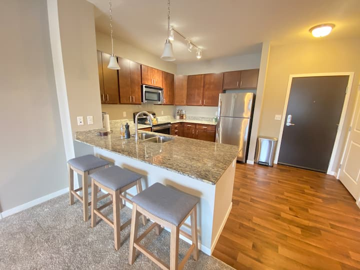 Beautiful 2 Bedroom by Mall of America and MN Zoo