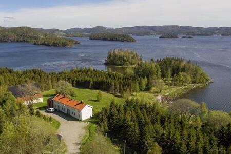 Fritidseldorado på Elvalandet, Namsos langs FV 769