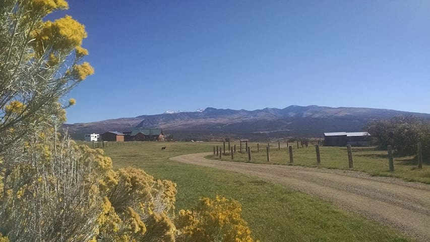 Beautiful Ranch with Views of Mountains & Mesas - Mancos - Hus