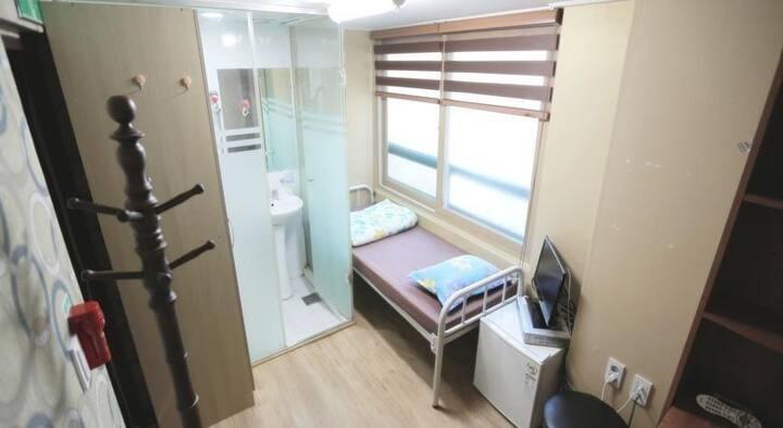 S room w private bath, Shower, air 격리가능quarantine