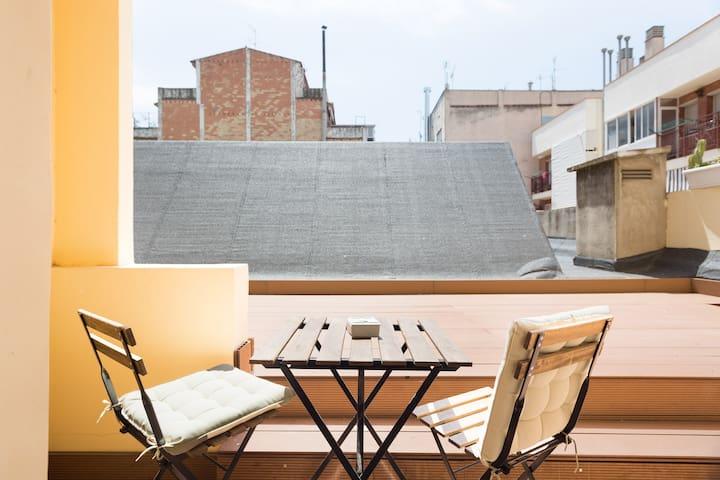Olala Design Apartment 1.3|Terrace|10m Pl.España