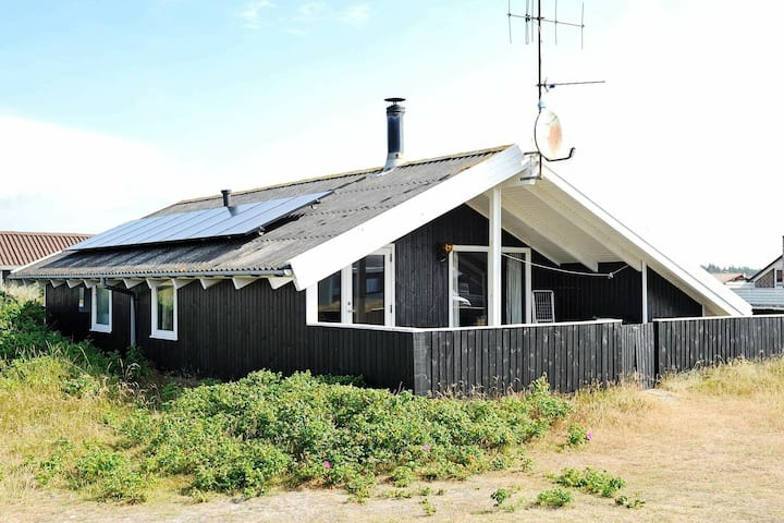 Modern Holiday Home in Hvide Sande with Dunes