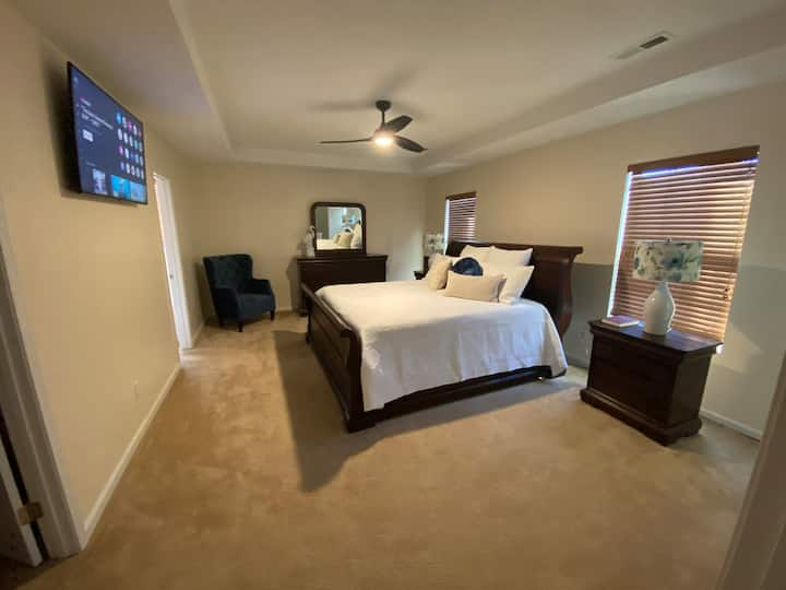 4 Bed, 2.5 Bath with Nursery in Master Bedroom