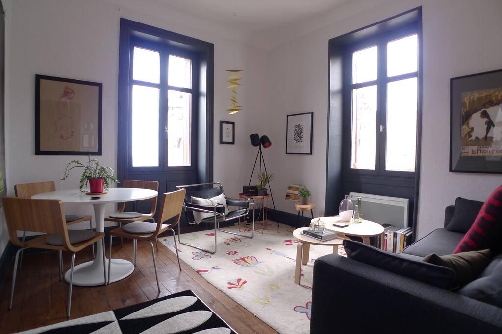 Séjour / Living-dining area
