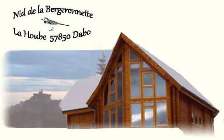 Nid de la Bergeronnette * 14 pers.* - Dabo - Lomamökki