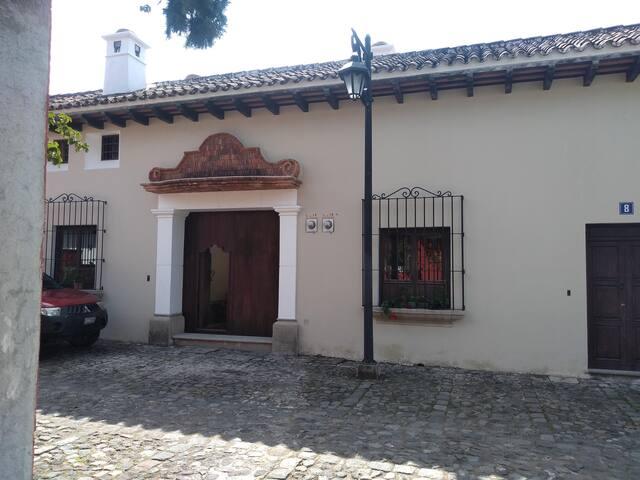 Loft colonial en Antigua Guatemala