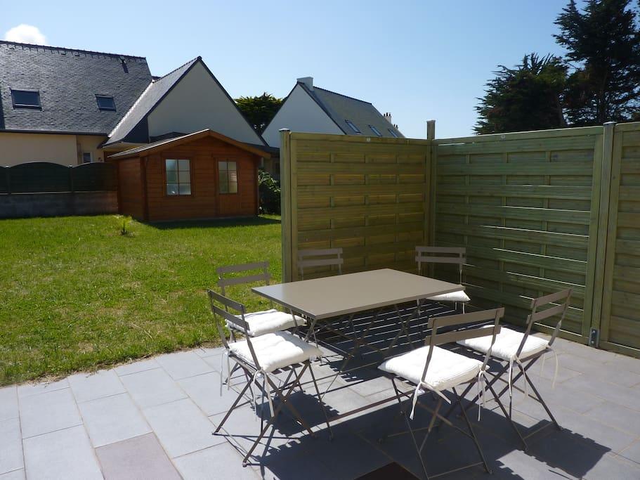 Maison calme et bien quip e de 90m2 avec jardin houses for Jardin 600m2