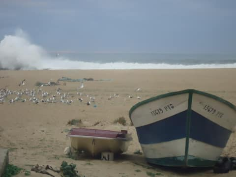 Jeden krok od pláže, Aguda, Porto