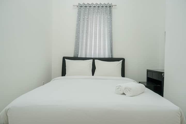 Comfortable 2BR Grand Palace Kemayoran Apartment