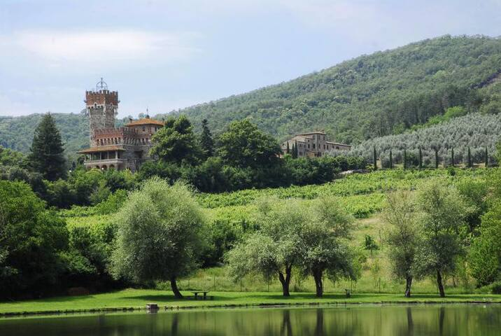 Country House, Terrace and Garden - Bucine - Huoneisto