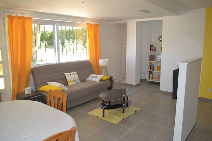 appart RDC maison ,72 m2 proche Biarritz,1-4p