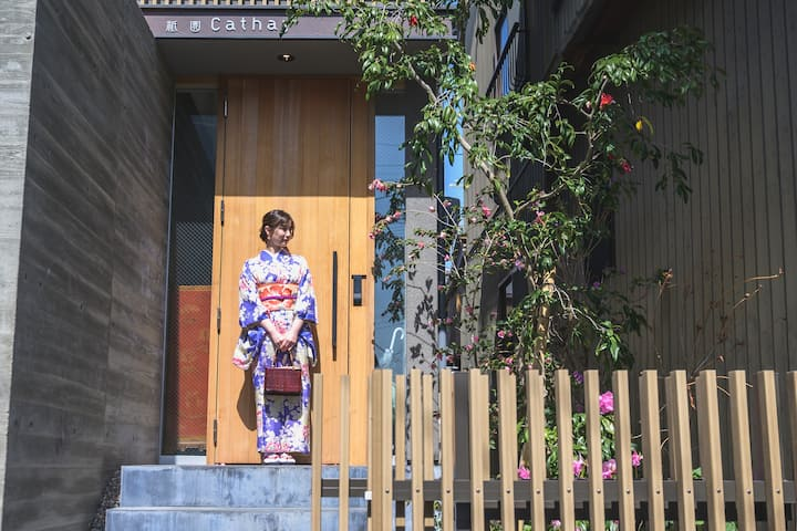 New house in Gion!2min to bus stop! Sweet&Cozy!