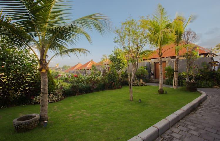 Balinese rooms#Krishna Home #8 by Canggu Village