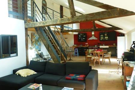 Loft d'artiste spacieux et lumineux